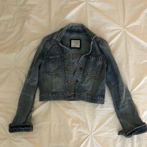 Cropped Abercrombie & Fitch Denim Jacket